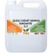 Tito Çilekli Yoğurt Aroması Suda Çözünür 5 Lt