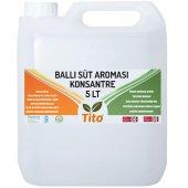 Tito Ballı Süt Aroması Suda Çözünür 5 Lt