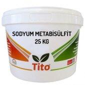 Tito Sodyum Metabisülfit Gıda Tipi (Kükürt) 25 Kg