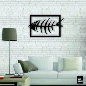 Balık Metal Tablo Duvar Dekoru