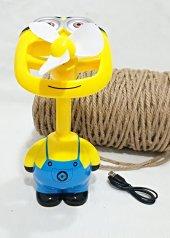 Minion Özel U.sb Şarzlı Fan