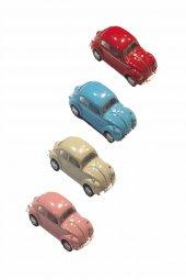 4 Lü Mini Tosbağa Çek Bırak Araba Df Vw 001