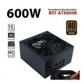 Boost 600w 80+ Bronze Atx Power Supply 12 Cm Kırmızı Fan Bst Atx6