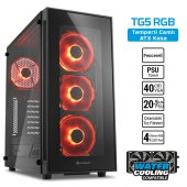 Sharkoon Tg5 Atx Rgb Usb3.0 4xled Fan Kasa