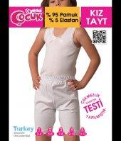 Tek Yıldız Kız Çocuk Likralı Çocuk Tayt 3601
