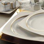 Kütahya Porselen 12 Kişilik 9675 Bone Mare 62 Prc Yemek Takım