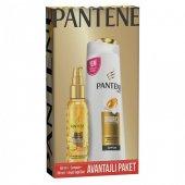 Pantene Onarıcı Ve Koruyucu Bakım Şampuan 360ml + Argan Yağı Elixir 100ml Avantajlı Paket
