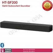 Sony Ht Sf200 Bluetoothlu 2.1 Kanal Dahili Subwooferli Sound Bar