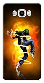 Samsung Galaxy J5 Kılıf Sm J500 Silikon Baskılı Alev Hiphop Stk 1