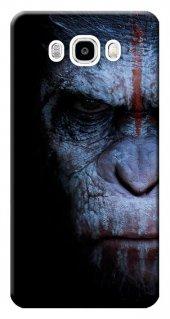 Samsung Galaxy J5 2016 Kılıf Sm J510 Silikon Baskılı Maymun Face