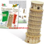 Folia 3d Maket Puzzle The Leaning Tower Of Pisa 30 Parça