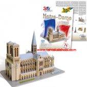 Folia 3d Maket Puzzle Notre Dame Paris 74 Parça