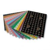 Folia Dekoratif Motivkarton 270 Gr. 50x70 Cm. 13 Tabaka Folklor