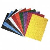 Caretta Dalga Desenli Kabartmalı Eva A4 10 Renk