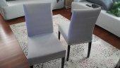 Sandalye Kılıfı Dalgıç Kumaş Likralı Beyaz