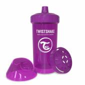 Twistshake Twistshake Kidcup Damlatmaz 360ml Suluk 12+ Mor Mo360s
