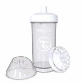Twistshake Twistshake Kidcup Damlatmaz 360ml Suluk 12+ Beyaz Be360s