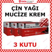 3 Kutu Çin Yağı Mucize Krem