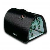 Lepus Flybag Kedi Ve Köpek Ekose Seyahat Çantası Siyah 25x40x25h
