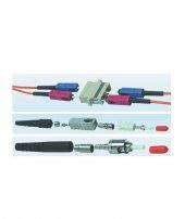 Hcs Lc Duplex Plastik Adaptor Bej Mm