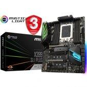 Msı X399 Slı Plus Ddr4 3600 Oc Mhz Sockettr4 (Atx)