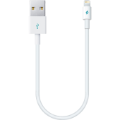 Ttec Minicable 30cm İph. Şarj Kablosu Beyaz