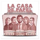 Dekoratif Uv Baskılı Elektrik Düğmesi Priz Zil La Casa De Papel