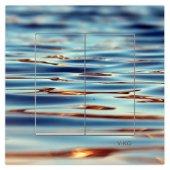 Dekoratif Baskılı Elektrik Düğmesi Priz Kapı Zili Durgun Deniz
