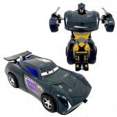 Robota Dönüşebilen Çekbırak Araba