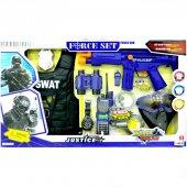 Büyük Boy Kutulu Polis Swat Seti