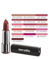 Sensilis Velvet Satin Comfort Lipstick 3.5ml 218 Dragee Yoğun Ne