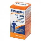 Pharmaton 50 Plus 30 Kapsul Multivitamin Mineralle...