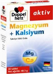 Doppelherz Magnezyum+kalsiyum 30 Kapsul Gıda Takviyesi