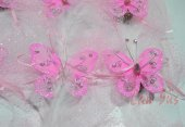 çiçekli Bebek Şekeri Pembe 50 Adet