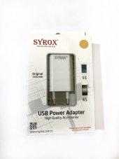 Syrox İphone Şarj Cihazı (Adaptör) 1000 Mah