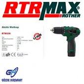 Rtrmax Rtm330 Akülü Matkap 10.8v 1.5 A 10mm