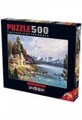 Anatolian Dağ Evi 500 Parça Puzzle