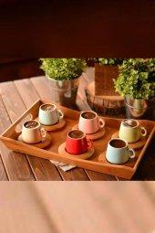 Rainbow 6 Kişilik Kahve Takımı Sade