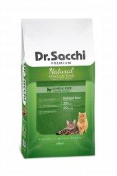 Dr Sacchi Premium Kuzu Etli Ve Pirinçli Kedi Maması 15 Kg