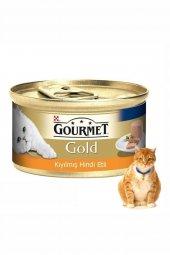 Gourmet Gold Kıyılmış Hindili Kedi Konserve Mama 24x85 Gr