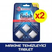 Finish Bulaşık Makinesi Temizleyici Tablet 3x2li Paket