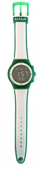 Alfajr Spor Kol Saati Beyaz Yeşil