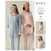 Baha 3311 Hamile Lohusa Pijama Takım 2018
