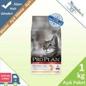 Pro Plan Tavuklu Yetişkin Kedi Maması 1 Kg Açık Mama