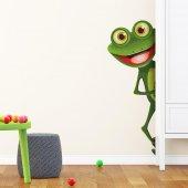 Dekorloft Ayaklı Şirin Kurbağa Çocuk Odası Sticker Cs 233