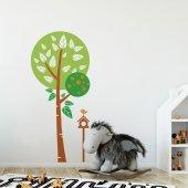 Dekorloft Ağaç Ve Kuş Yuvası Çocuk Odası Sticker Cs 246