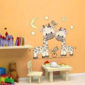 Dekorloft Anne Zürafa Çocuk Odası Duvar Sticker Cs 277