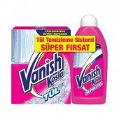 Vanish Tül Temizleme Sistemi (Tül Toz 450 Gr Ve Tül Parlatıcı 500 Ml)