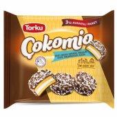 Torku Çokomio Marshmallow Sütlü Çikolatalı Bisküvi 77 Gr X 3 Adet