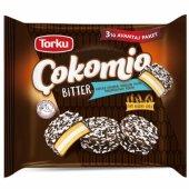 Torku Çokomio Marshmallow Bitter Çikolatalı Bisküvi 77 Gr X 3 Adet